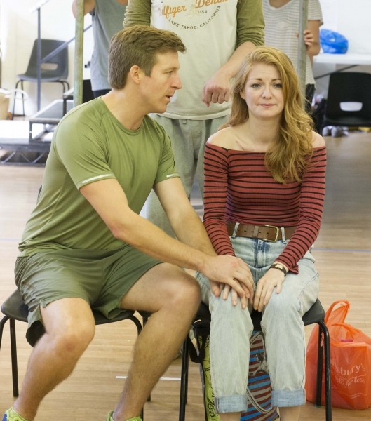 Photos: First Look at Haydn Oakley, Laura Pitt-Pulford & More in Rehearsal for UK's THE SMALLEST SHOW ON EARTH
