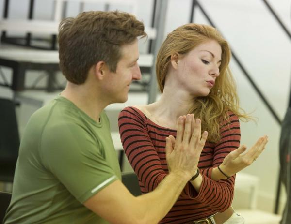Haydn Oakley & Laura Pitt-Pulford