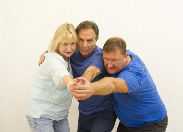 Liza Goddard, Brian Capron & Lee Proud