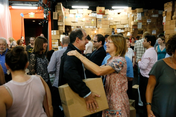 Photo Flash: Geoff Sobelle's THE OBJECT LESSON Marks Opening Night at Kirk Douglas Theatre