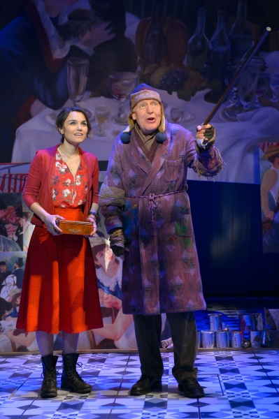 Samantha Barks as Amelie and award-winning actor Tony Sheldon as Dufayel