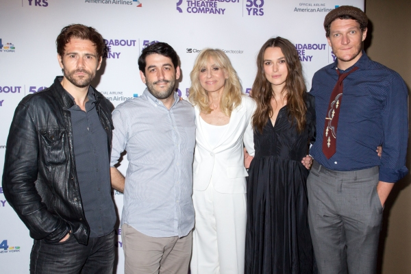 Matt Ryan, Evan Cabnet, Judith Light, Keira Knightley, Gabriel Ebert