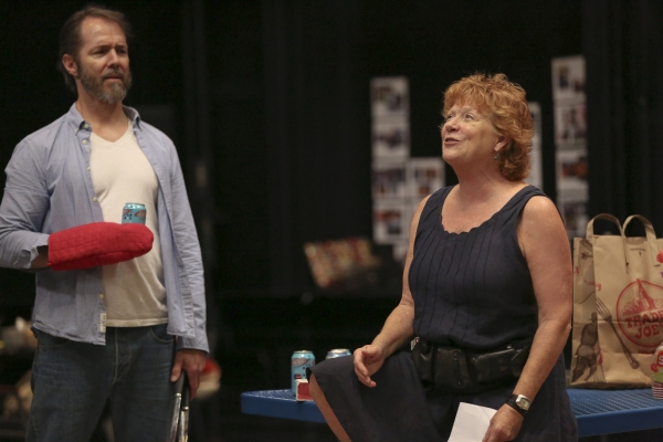 Paul Niebanck and Becky Ann Baker