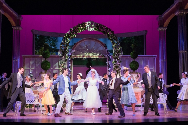 Company of Walnut Street Theatre's production of HIGH SOCIETY