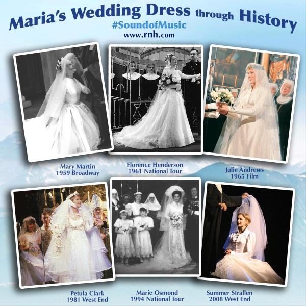 THE SOUND OF MUSIC Query Which Maria Wedding Gown Do You Prefer