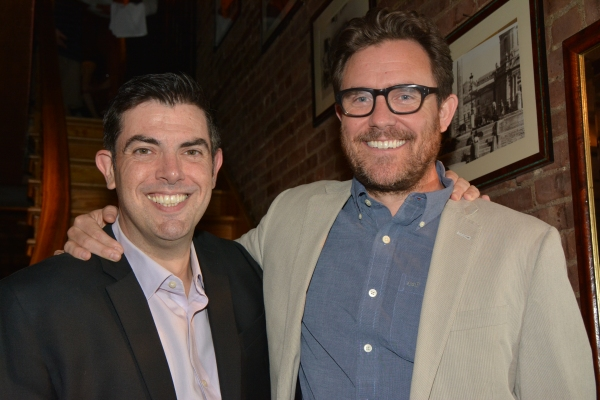 Jason O'Connell and Eric Tucker
