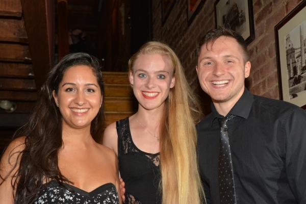 Kimberly Chatterjee, Emily Miller and Jonathan Marro