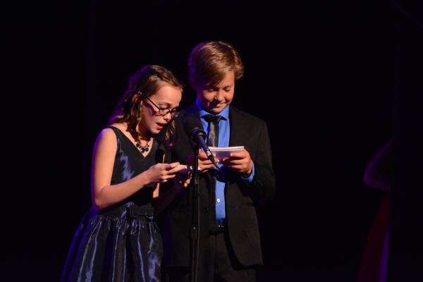Oona Laurence and Owen Judge Host tonight's event Photo
