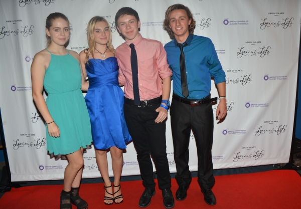 Rozi Baker, Meg Donnelly, Ethan Haberfield and Kurt Hartwell