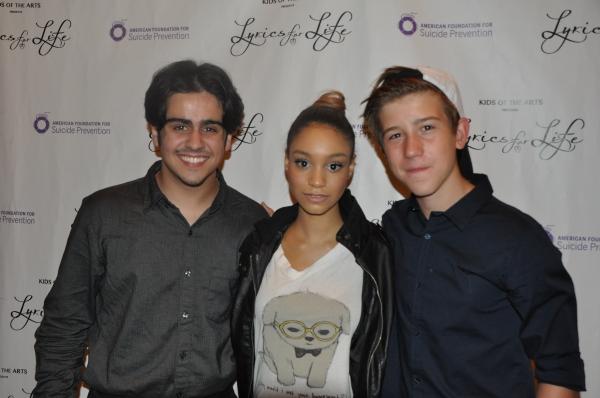 Matthew Gumley, Laurissa Romain and Sawyer Nunes
