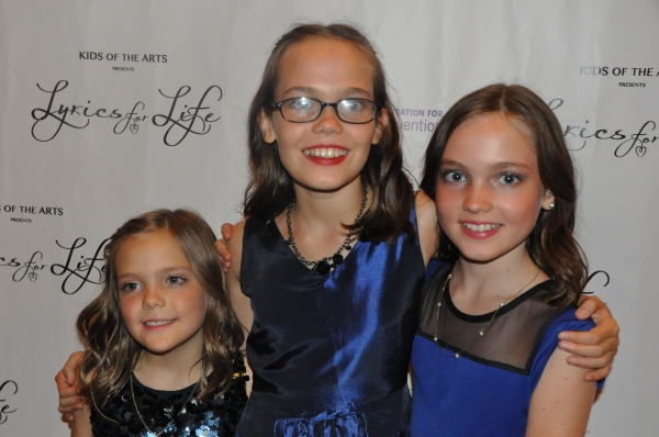 Jete Laurence, Oona Laurence and Aimee Laurence