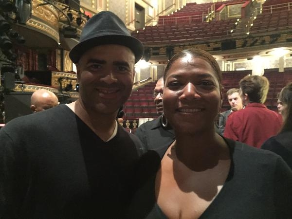 Christopher Jackson, Queen Latifah