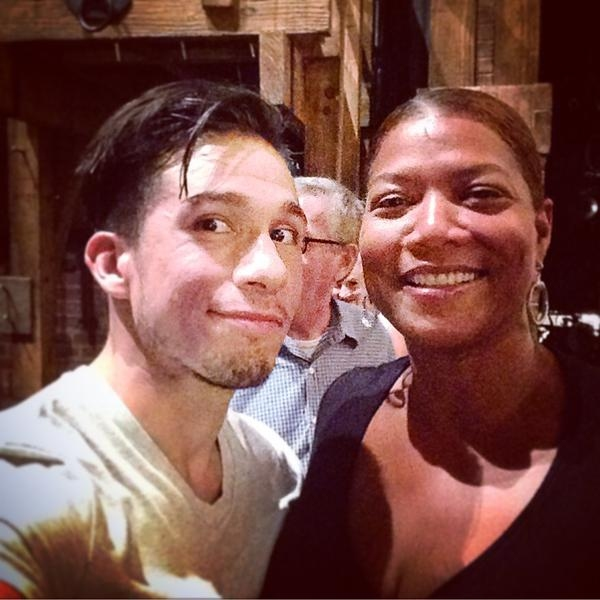 Jon Rua, Queen Latifah