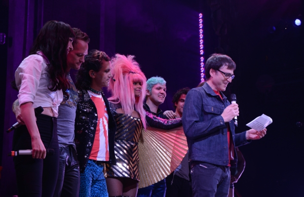 Lena Hall, Neil Patrick Harris, Peter Yanowitz, Rebecca Naomi Jones, Matt Duncan and Stephen Trask