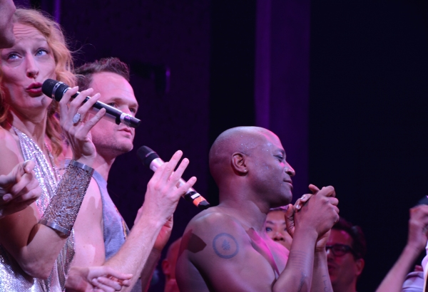 Shannon Conley, Neil Patrick Harris and Taye Diggs