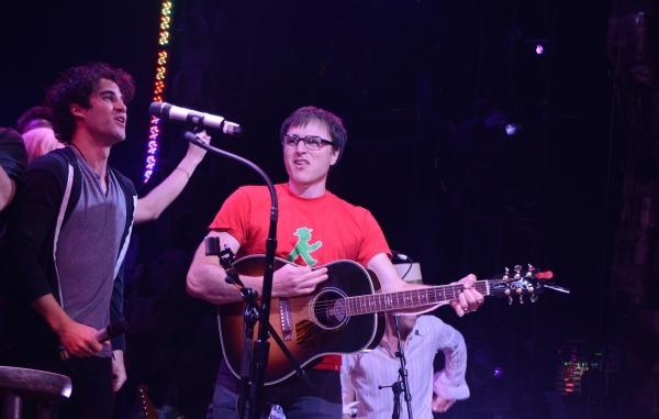 Darren Criss and Stephen Trask