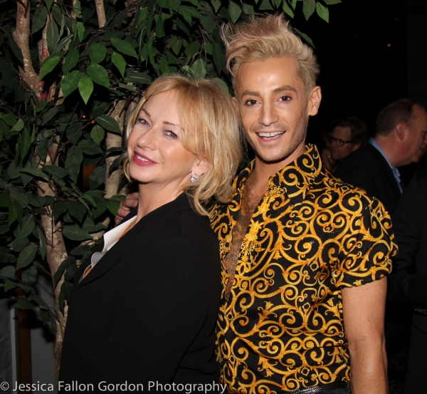Judy Craymer and Frankie Grande