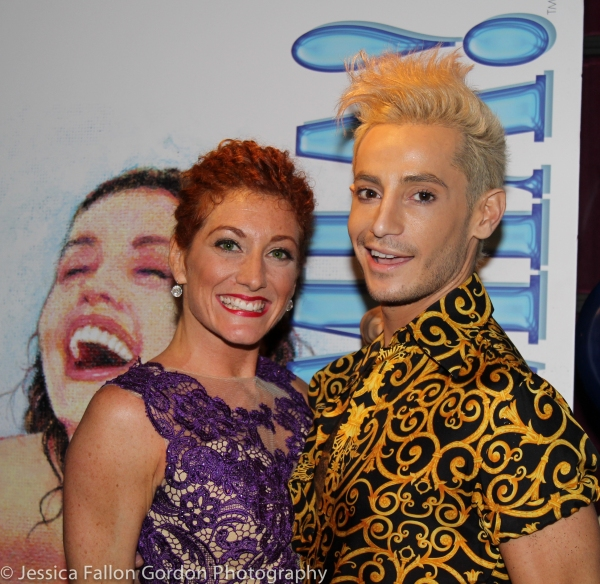 Allyson Carr and Frankie Grande