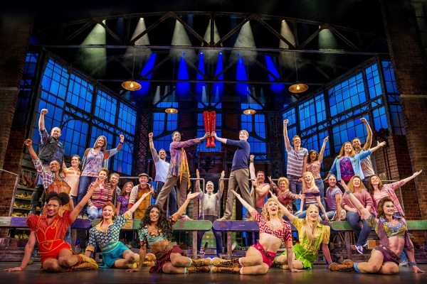 Photo Flash: First Look at the West End Premiere of KINKY BOOTS - Killian Donnelly, Matt Henry and More!