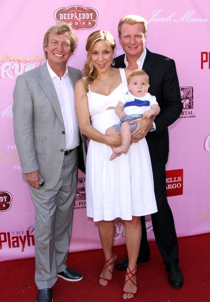 Nigel Becky, Kris Lythgoe and Baby Leo