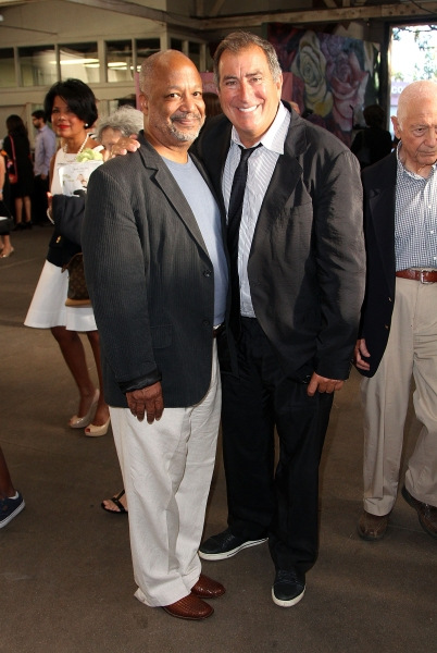 Sheldon Epps and Kenny Ortega