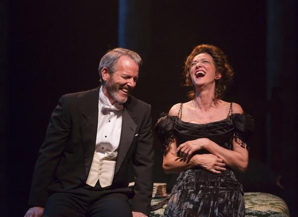 Stephen Bogardus as Fredrik Egerman and Haydn Gwynne as Desiree Armfeldt