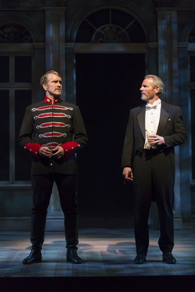 Mike McGowan as Count Carl-Magnus Malcolm and Stephen Bogardus as Fredrik Egerman