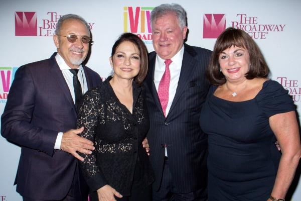 Emilio Estefan, Gloria Estefan, Robert Wankel, Charlotte St. Martin