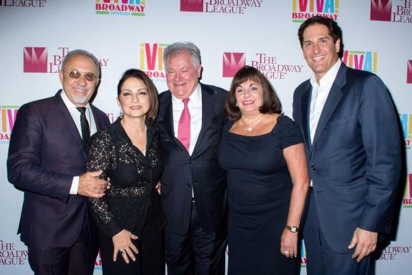 Emilio Estefan, Gloria Estefan, Robert Wankel, Charlotte St. Martin, Nick Scandalios