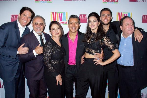 Nick Scandalios, Emilo Estefan, Gloria Estefan, Sergio Trujillo, Ana Villafane, Josh Segarra, James Nederlander