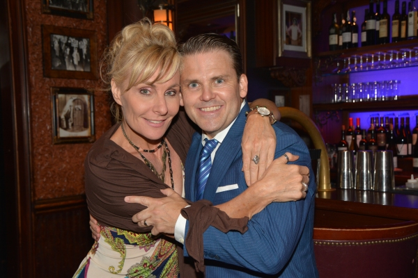 Judy McLane and Robert Creighton