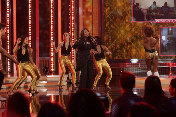 BEST TIME EVER WITH NEIL PATRICK HARRIS -- Episode 101 -- Pictured: Gloria Gaynor -- (Photo by: Greg Endries/NBC)