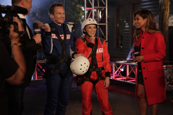 BEST TIME EVER WITH NEIL PATRICK HARRIS -- Episode 101 -- Pictured: (l-r) Neil Patrick Harris, Reese Witherspoon, Nicole Scherzinger -- (Photo by: Greg Endries/NBC)