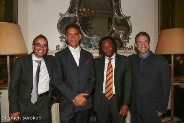 Tedd Firth, Brian Stokes Mitchell, Mark Mclean, Gary Haase
