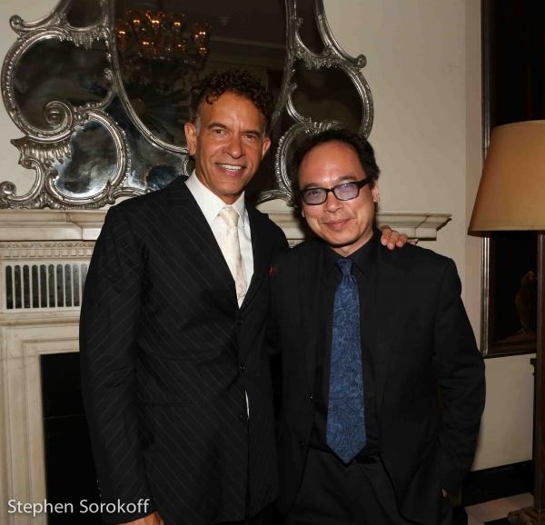Brian Stokes Mitchell & David Lai Photo