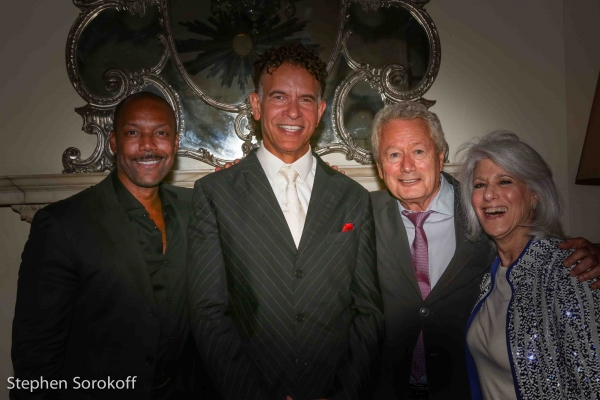 Photo Coverage: Brian Stokes Mitchell Opens PLAYS WITH MUSIC at Cafe Carlyle