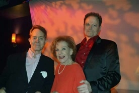 Steve Ross, Joan Copeland, Walter Willison