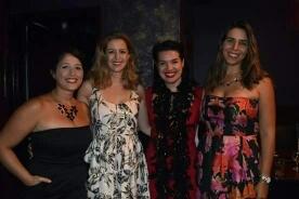 Rosa Betancourt, Minda Larsen, Hanna Burke, Julie A. Feltman  Photo