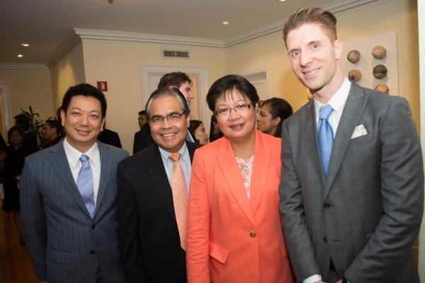 Photo Flash: Consul General of the Philippines Celebrates Lea Salonga's Return to Broadway