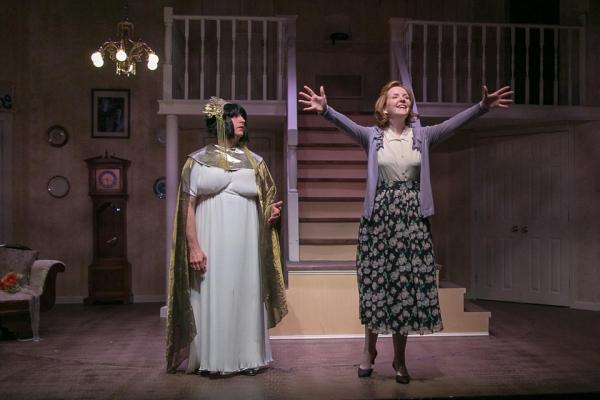 Hal Chernoff as Jack/Maxine and Carey Van Hollen as Meg