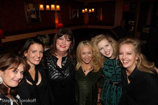 Kari Strand, Ann Hampton Callaway, Eda Sorokoff, Savannah Brown, Stacy Sullivan