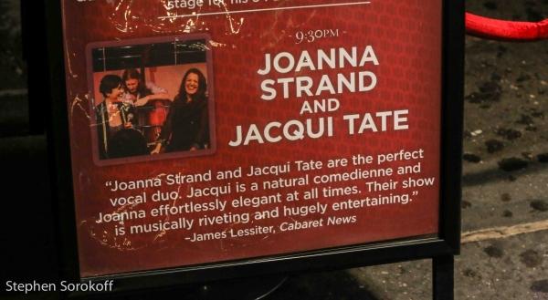 Photo Coverage: Joanna Strand & Jacqui Tate Play 54 Below