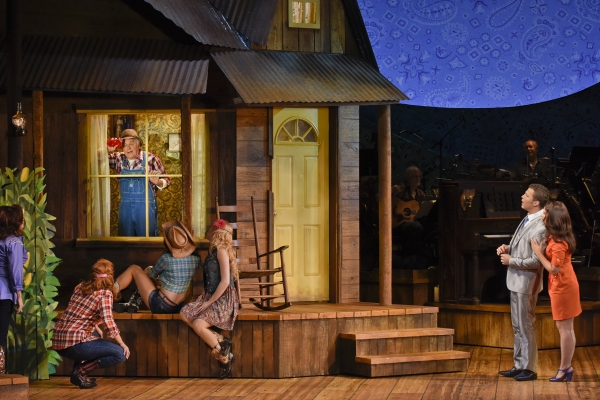 Photo Flash: First Look at Rose Hemingway, Justin Guarini & More in Dallas Theatre Center's MOONSHINE: THAT HEE HAW MUSICAL!