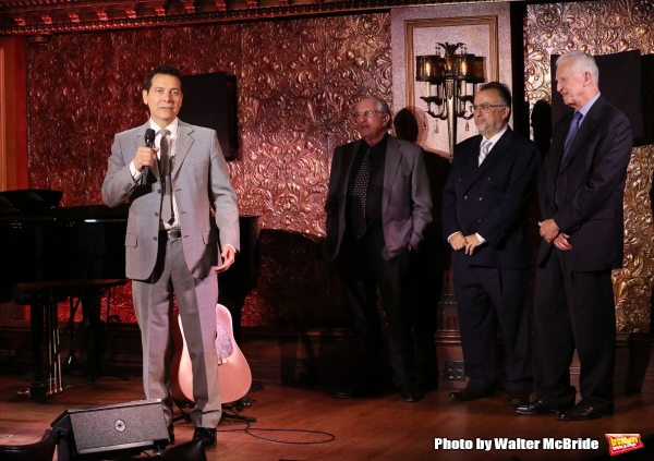 Michael Feinstein, Steven Baruch, Richard Frankel and Tom Viertel