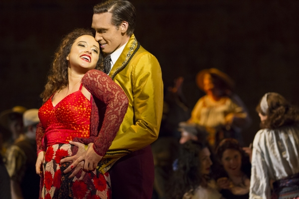 Photo Flash: First Look at Clementine Margaine, Michael Todd Simpson & More in WNO's CARMEN