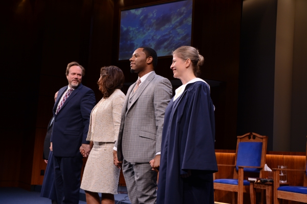 Photo Coverage: Inside Opening Night of THE CHRISTIANS at Playwrights Horizons
