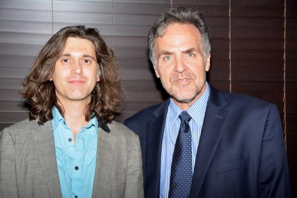 Lucas Hnath and Tim Sanford