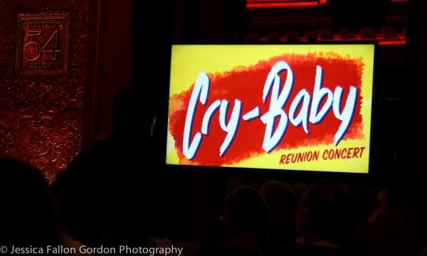 Photo Coverage: Original CRY-BABY Cast Reunites at 54 Below!