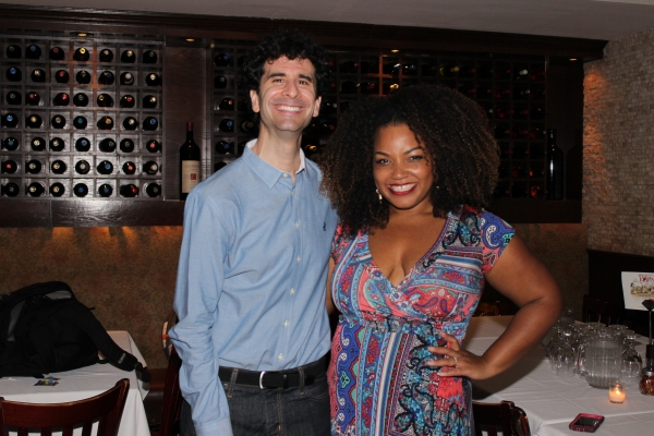 John Cariani and Marisha Wallace