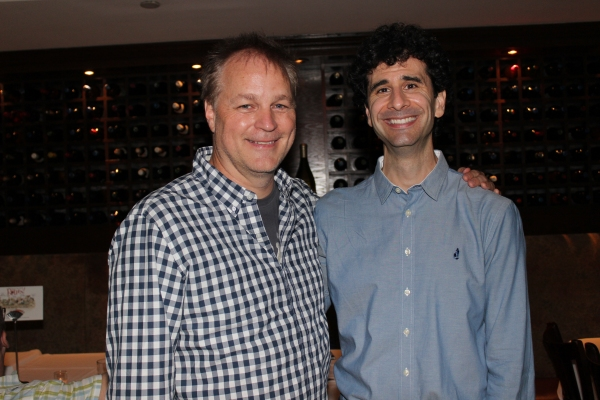 Karey Kirkpatrick and John Cariani Photo